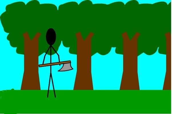 Play Idle Woodcutting