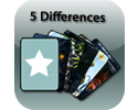 Play 5 Differences (Fantasy pack)