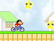 Play Bike Rider Shin Chan