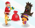Play Santa defender