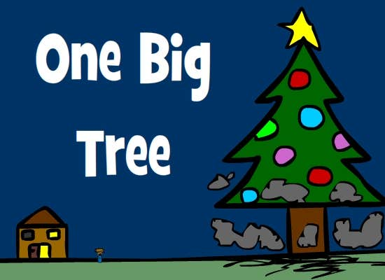 Play One Big Tree: A Kongregate Christmas Quest