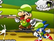 Play Mario & Sonic Zombie Killer