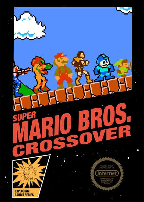 Play Super Mario Bros Crossover