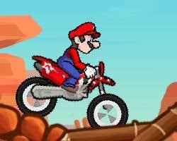 Play Mario Canyon MotorBike