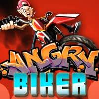 Play Angry Biker 3D