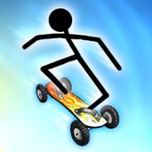 Play Stickman Mountainboard