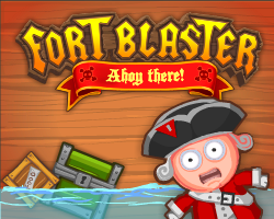 Play Fort Blaster. Ahoy There!