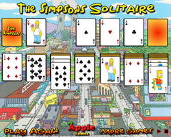 Play The Simpsons Solitaire
