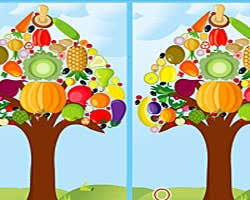 Play Vegetable Tree Difference