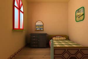 Play Village Wooden Room Escape