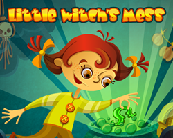 Play Little Witch's Mess