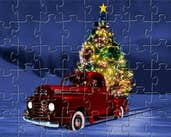 Play Christmas Tree Delivery Jigsaw