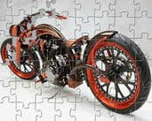 Play Chopper Bike Jigsaw
