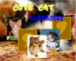 Play Cute Cat Memory