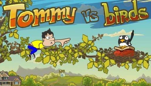 Play Tommy vs Birds