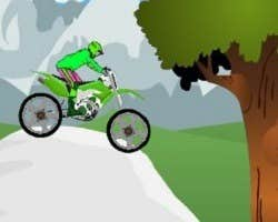 Play Motorbike Obstacles 2