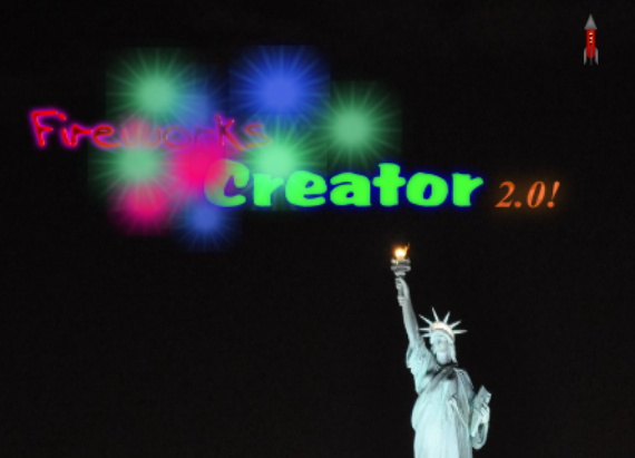 Play Fireworks Creator! 2.0