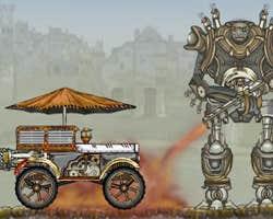 Play SteamPunk Truck Race