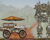 Play SteamPunk Truck Race