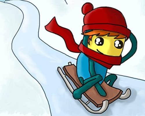 Play Pajama Boy: Snow Adventure