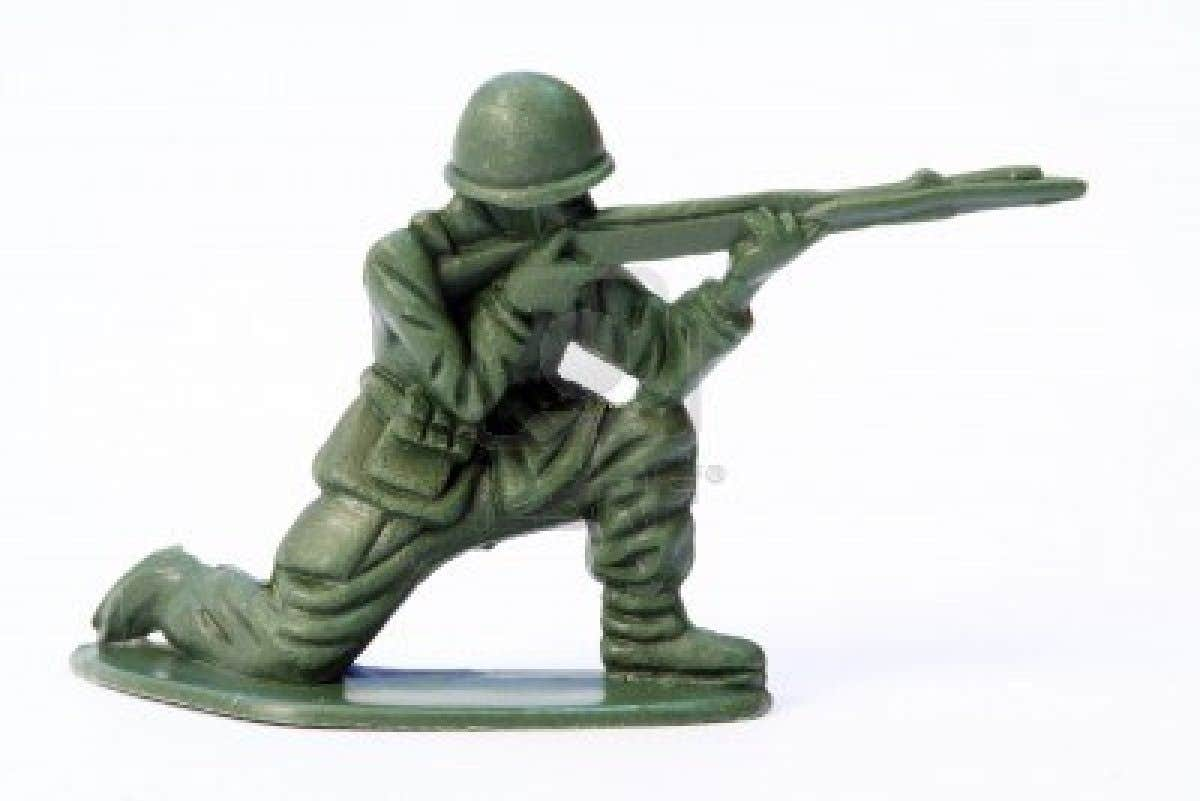 Play Concept Test - Toy Soldier