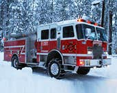 Play Winter Firefighters Truck 2