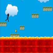 Play Stickman Run - Hot Lava
