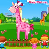 Play Cute Giraffe Care