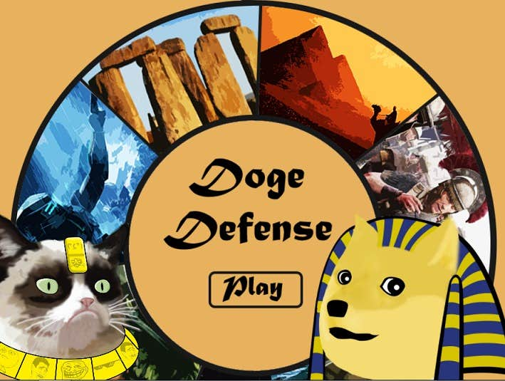 Play Doge Defense