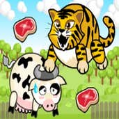 Play Tiger Eat Cow