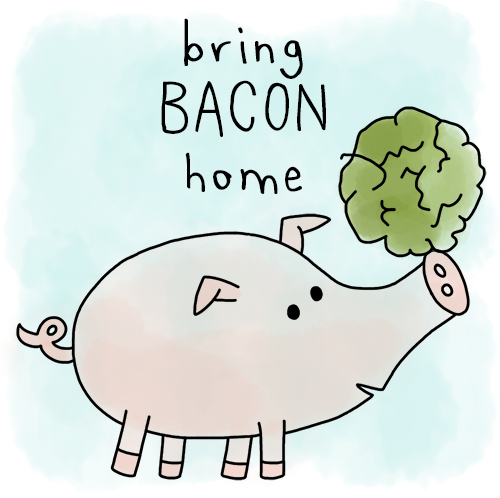 Play Bring Bacon Home!