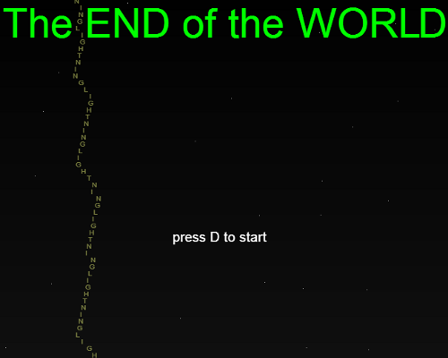 Play The END of the WORLD