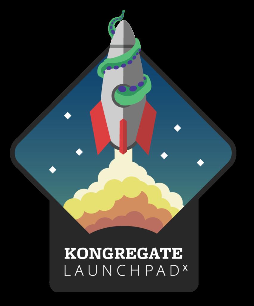 Kongregate Launchpad logo