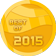 Best of 2015 medal mini