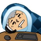 Sleepy gma base png
