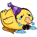 Sad duckie base png