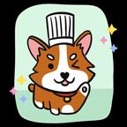 Happy Corgi Chef