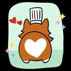 Heart butt