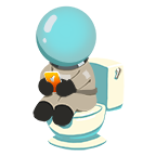 Astronaut toilet