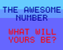 Play The Awesome Number!