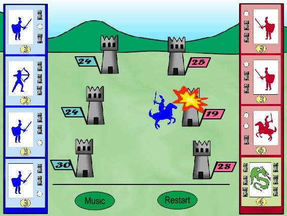 Play The 6 Towers War