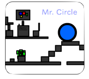 Play Mr. Circle and the Precarious Journey