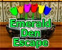 Play Emerald Den Escape