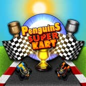 Play Penguins Super Kart
