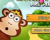 Play Monkey Pick Peaches 2