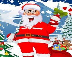 Play Dress up Santa Claus