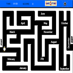 Play New Year Maze
