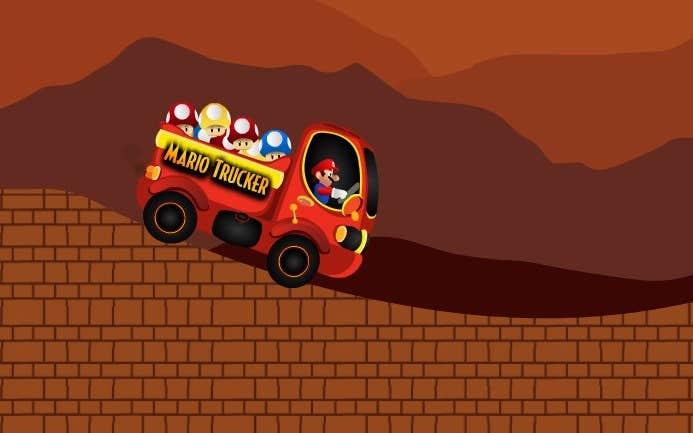 Play Mario Trucker