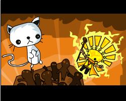 Play Cat God vs Sun King 2