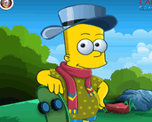 Play Bart Simpson Dress Up